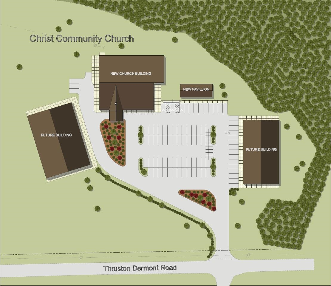 New Campus Site Plan