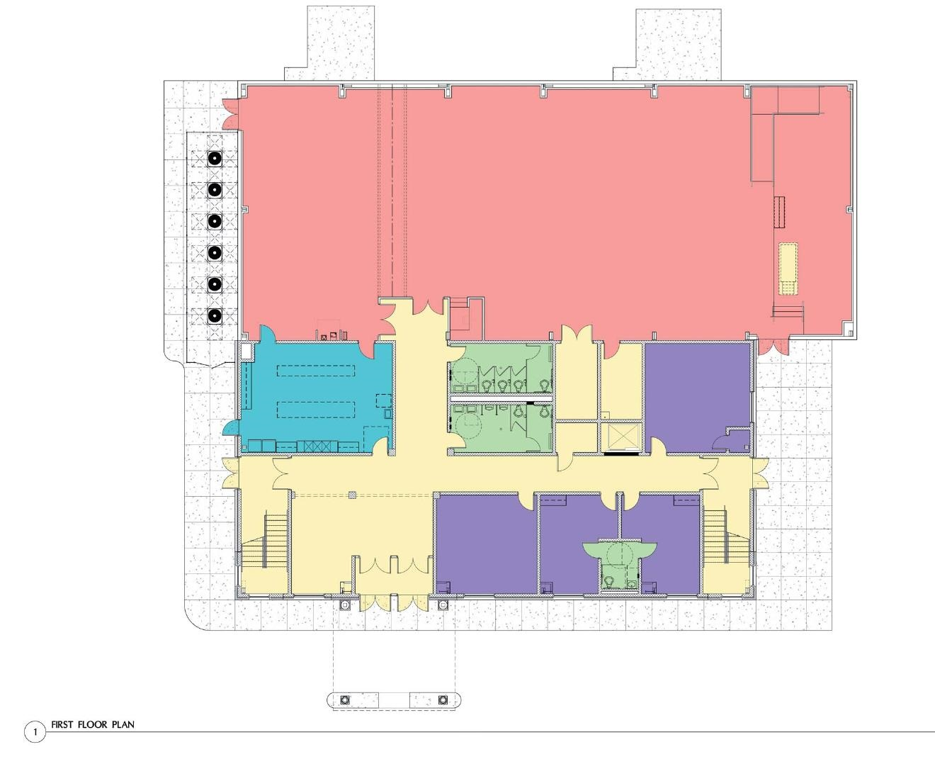 New CCC East Campus First Floor Plan