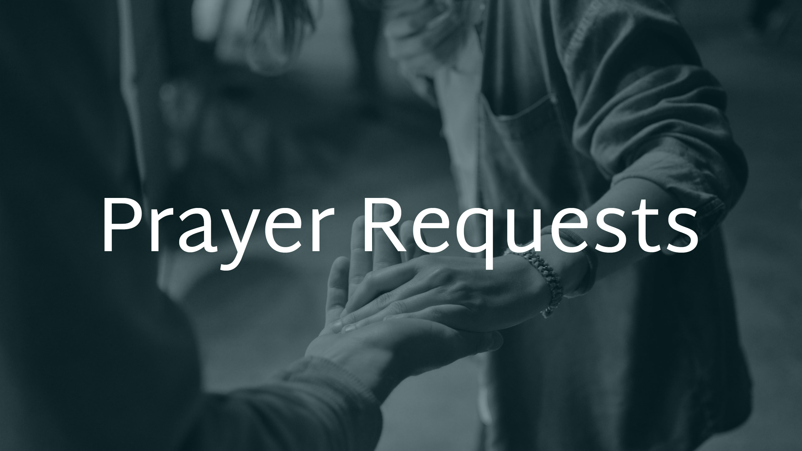 Prayer Requests Image